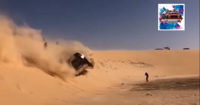 """Clip """"อลองโศ"""" ขับม้วนคว่ำ 2 ตลบ ก่อนที่จะขับลุยต่อ ในการแข่งขัน Dakar Rally 2020"""